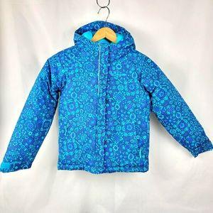 Columbia Kids Blue Winter Puffer Coat Size XS